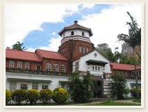 La Torre Octagonal de la Escuela Secundaria Tamkang